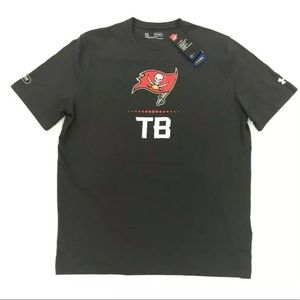 Under Armour Tampa Bay Buccaneers T Shirt Black